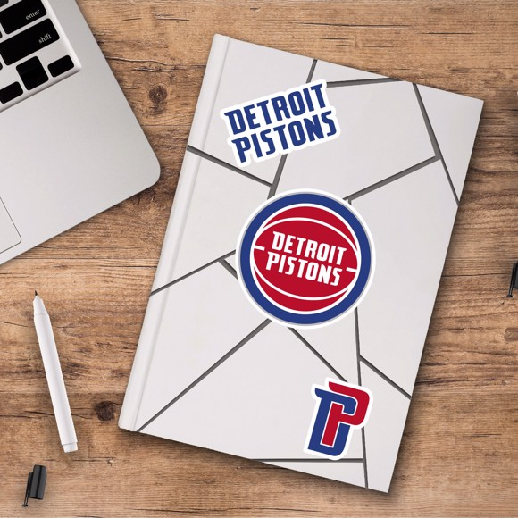 Picture of Detroit Pistons Decal 3-pk