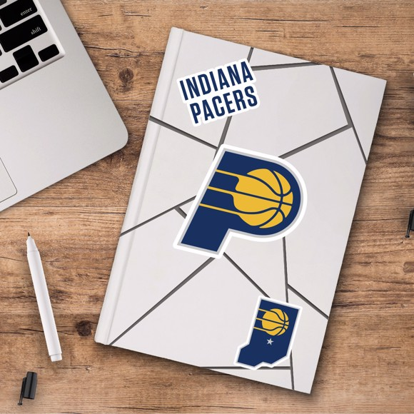 Picture of Indiana Pacers Decal 3-pk
