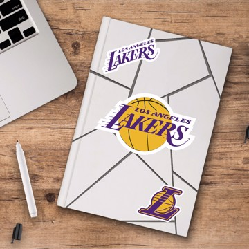 Picture of Los Angeles Lakers Decal 3-pk