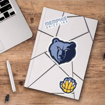 Picture of Memphis Grizzlies Decal 3-pk