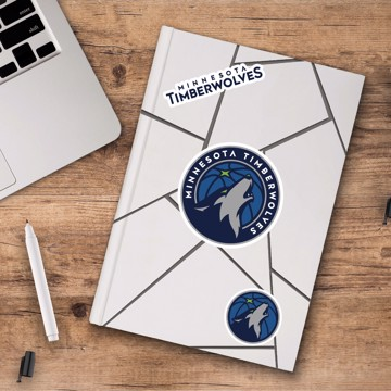 Picture of Minnesota Timberwolves Decal 3-pk