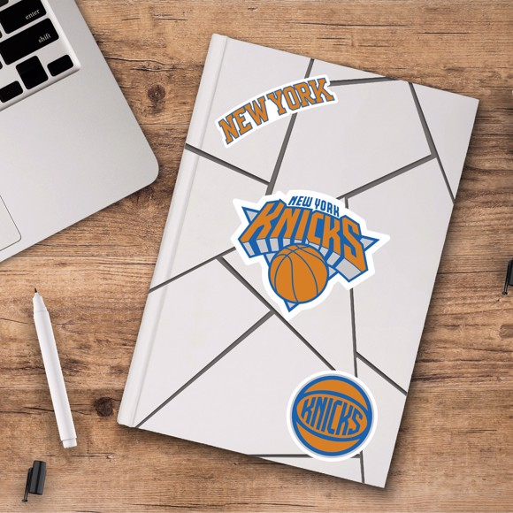 Picture of New York Knicks Decal 3-pk