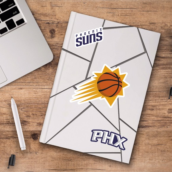 Picture of Phoenix Suns Decal 3-pk