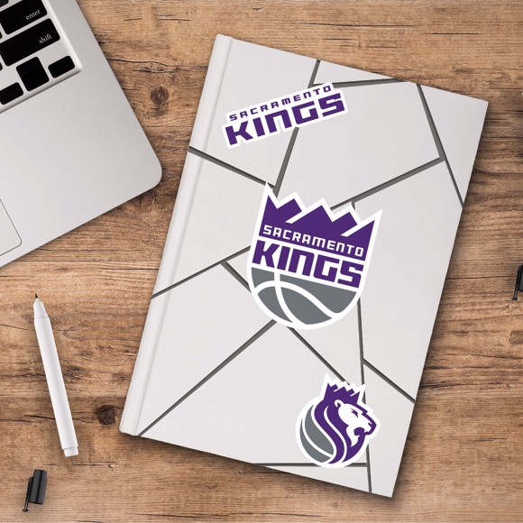 Picture of Sacramento Kings Decal 3-pk