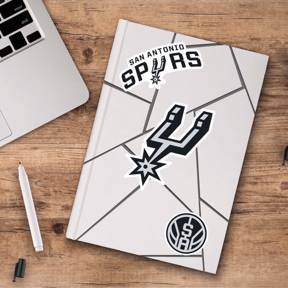 Picture of San Antonio Spurs Decal 3-pk