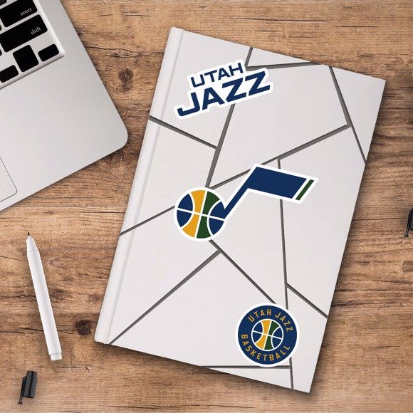 Picture of Utah Jazz Decal 3-pk