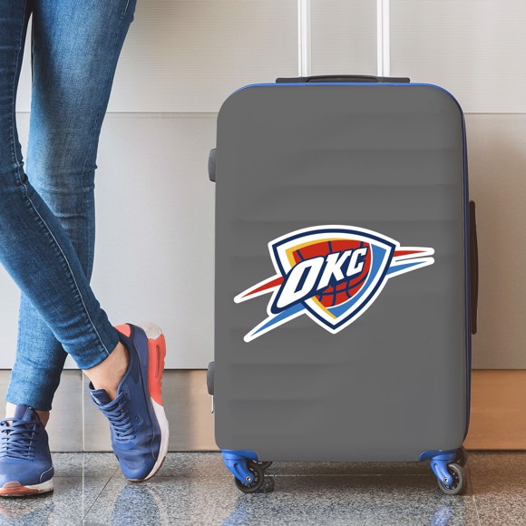 Picture of Oklahoma City Thunder Large Decal