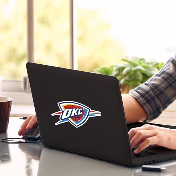 Picture of Oklahoma City Thunder Matte Decal
