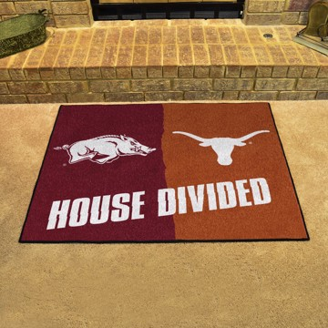 Picture of House Divided - Arkansas / Texas House Divided Mat