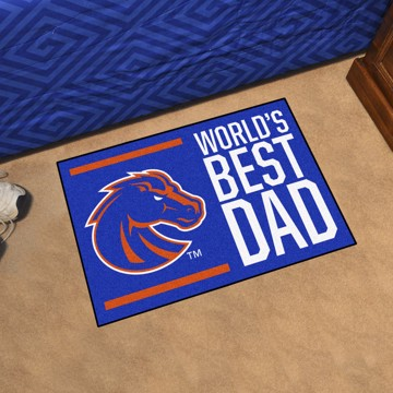 Picture of Boise State Starter Mat - World's Best Dad