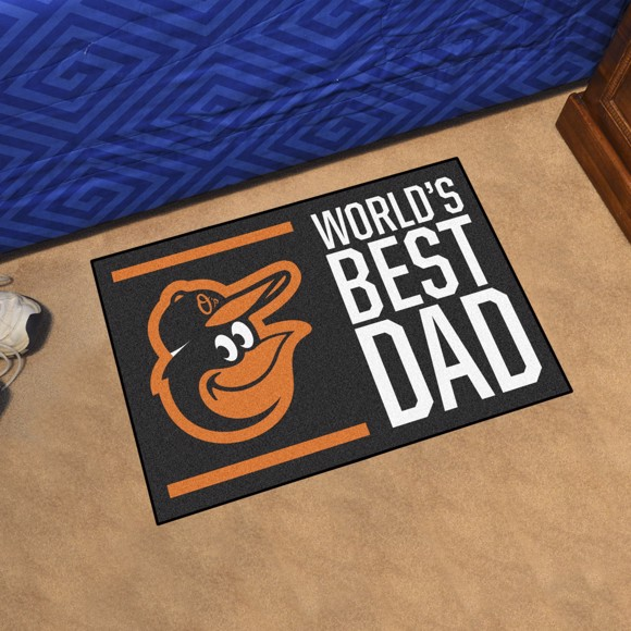 Picture of Baltimore Orioles Starter Mat - World's Best Dad