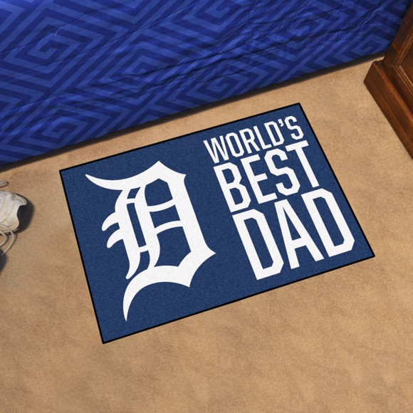 Picture of Detroit Tigers Starter Mat - World's Best Dad