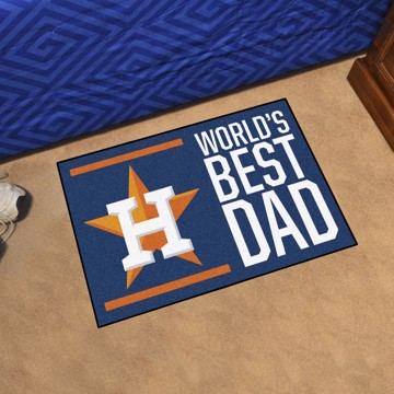 Picture of Houston Astros Starter Mat - World's Best Dad