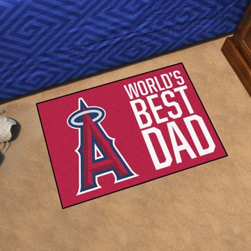 Picture of Los Angeles Angels Starter Mat - World's Best Dad