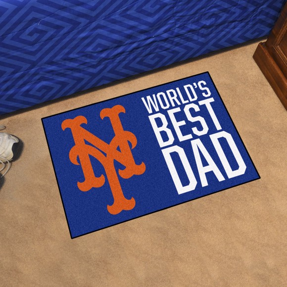 Picture of New York Mets Starter Mat - World's Best Dad