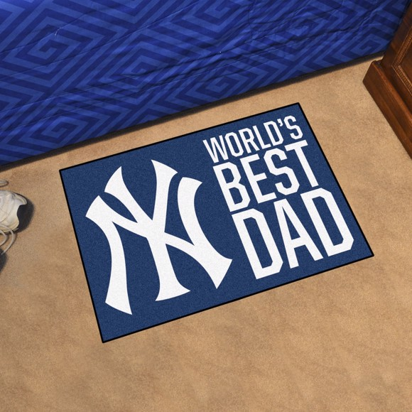Picture of New York Yankees Starter Mat - World's Best Dad