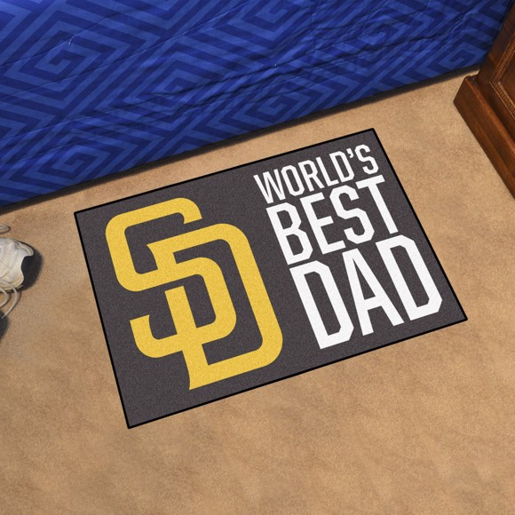Picture of San Diego Padres Starter Mat - World's Best Dad