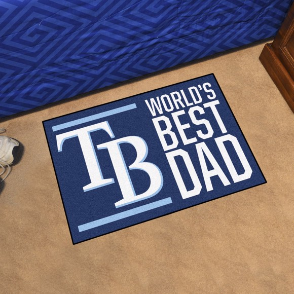 Picture of Tampa Bay Rays Starter Mat - World's Best Dad