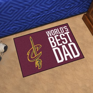 Picture of Cleveland Cavaliers Starter Mat - World's Best Dad