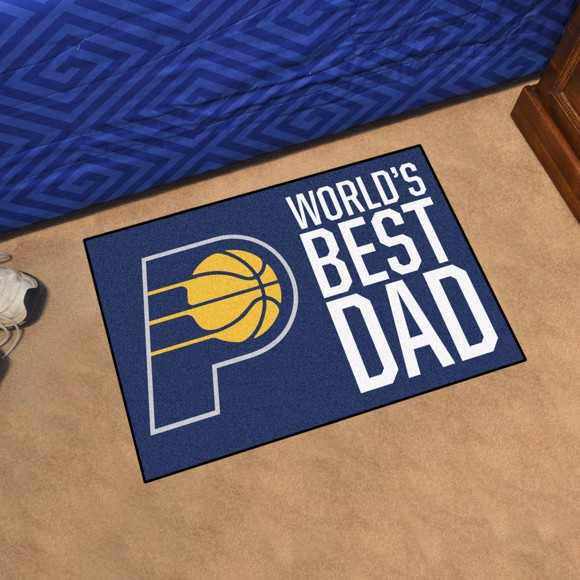 Picture of Indiana Pacers Starter Mat - World's Best Dad