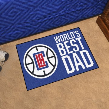 Picture of Los Angeles Clippers Starter Mat - World's Best Dad