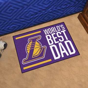 Picture of Los Angeles Lakers Starter Mat - World's Best Dad