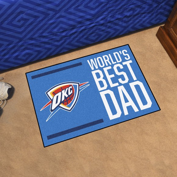 Picture of Oklahoma City Thunder Starter Mat - World's Best Dad