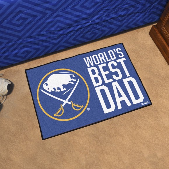 Picture of Buffalo Sabres Starter Mat - World's Best Dad