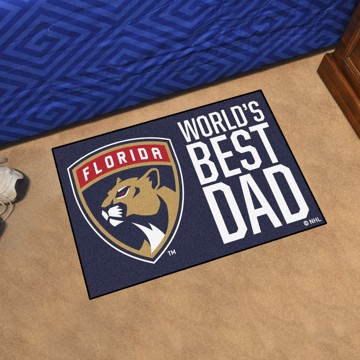 Picture of Florida Panthers Starter Mat - World's Best Dad