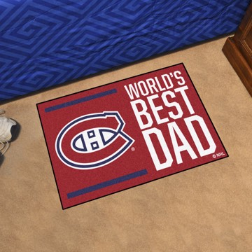 Picture of Montreal Canadiens Starter Mat - World's Best Dad