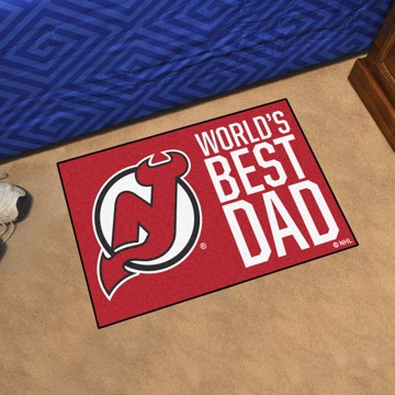 Picture of New Jersey Devils Starter Mat - World's Best Dad