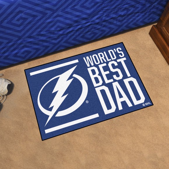 Picture of Tampa Bay Lightning Starter Mat - World's Best Dad