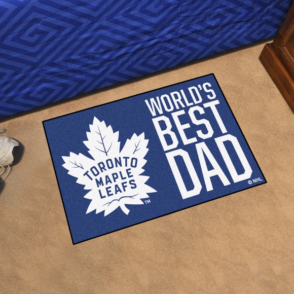 Picture of Toronto Maple Leafs Starter Mat - World's Best Dad