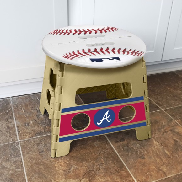 Picture of Atlanta Braves Folding Step Stool