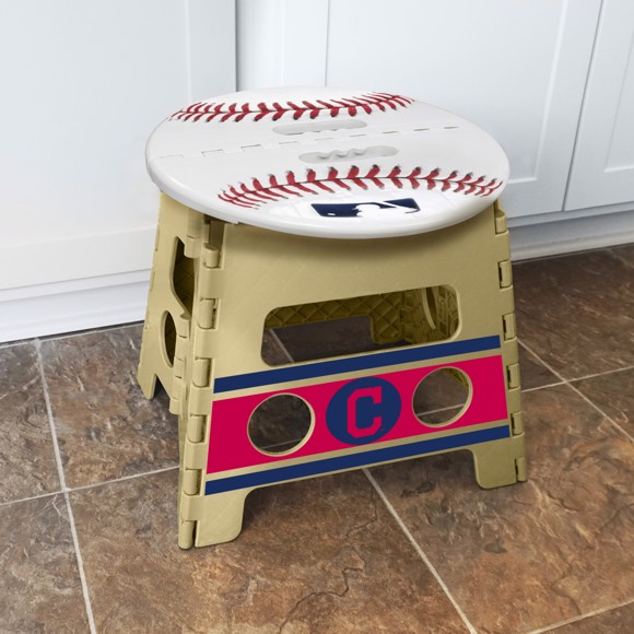 Picture of Cleveland Indians Folding Step Stool