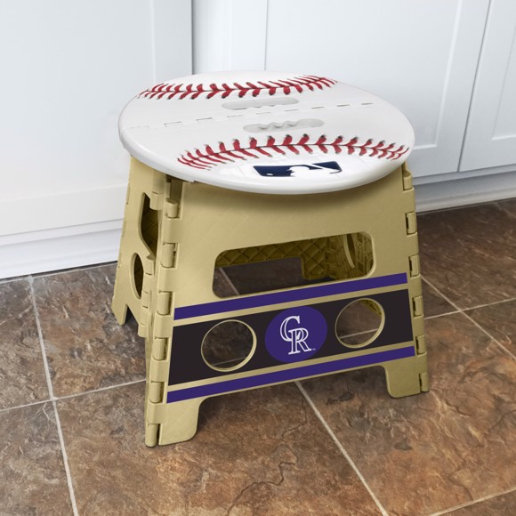 Picture of Colorado Rockies Folding Step Stool