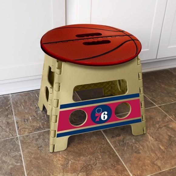 Picture of Philadelphia 76ers Folding Step Stool