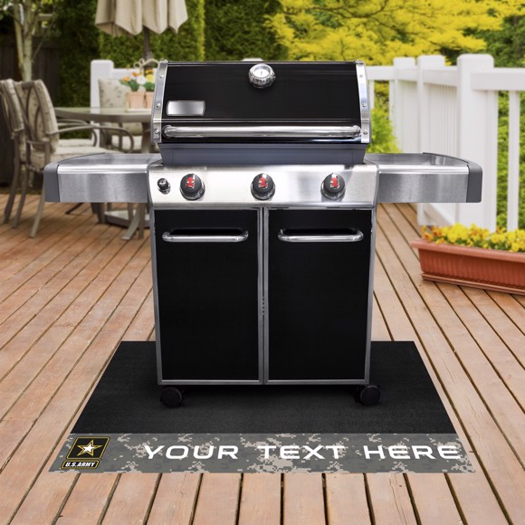 Picture of U.S. Army Personalized Grill Mat