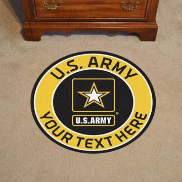 Picture of U.S. Army Personalized Roundel Mat