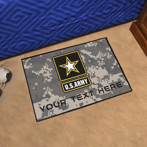 Picture of U.S. Army Personalized Starter Mat