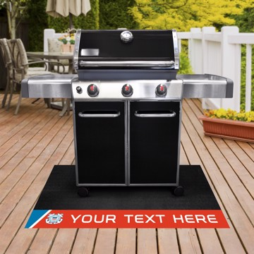 Picture of U.S. Coast Guard Personalized Grill Mat