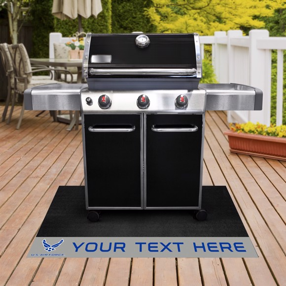 Picture of U.S. Air Force Personalized Grill Mat