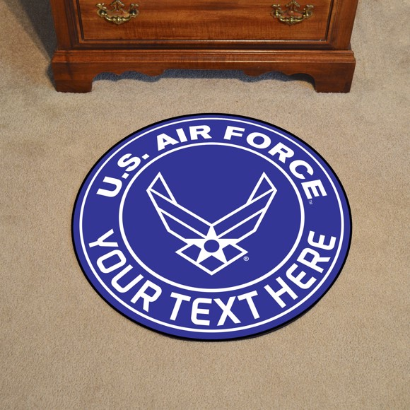 Picture of U.S. Air Force Personalized Roundel Mat