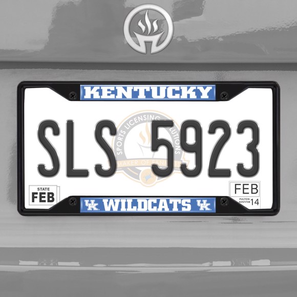 Picture of University of Kentucky License Plate Frame - Black