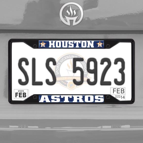 Picture of MLB - Houston Astros License Plate Frame - Black