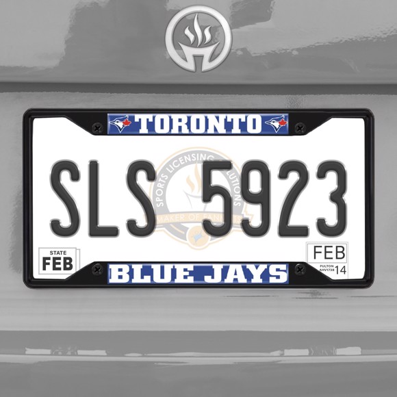 Picture of MLB - Toronto Blue Jays License Plate Frame - Black