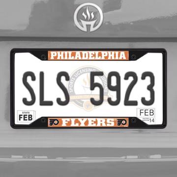 Picture of NHL - Philadelphia Flyers License Plate Frame - Black