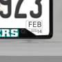 Picture of MLB - Atlanta Braves License Plate Frame - Black