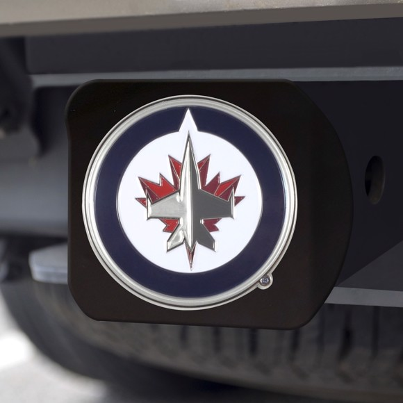 Picture of Winnipeg Jets Color Hitch Cover - Black