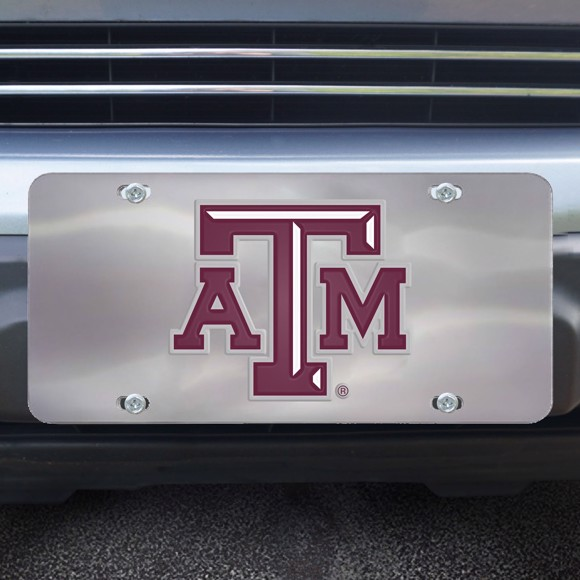 Picture of Texas A&M Diecast License Plate